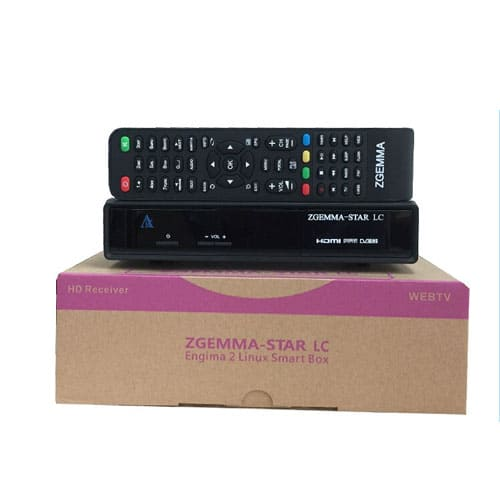 ZGEMMA STAR LC – Enigma 2 Linux Smart TV Box (Cable Only)