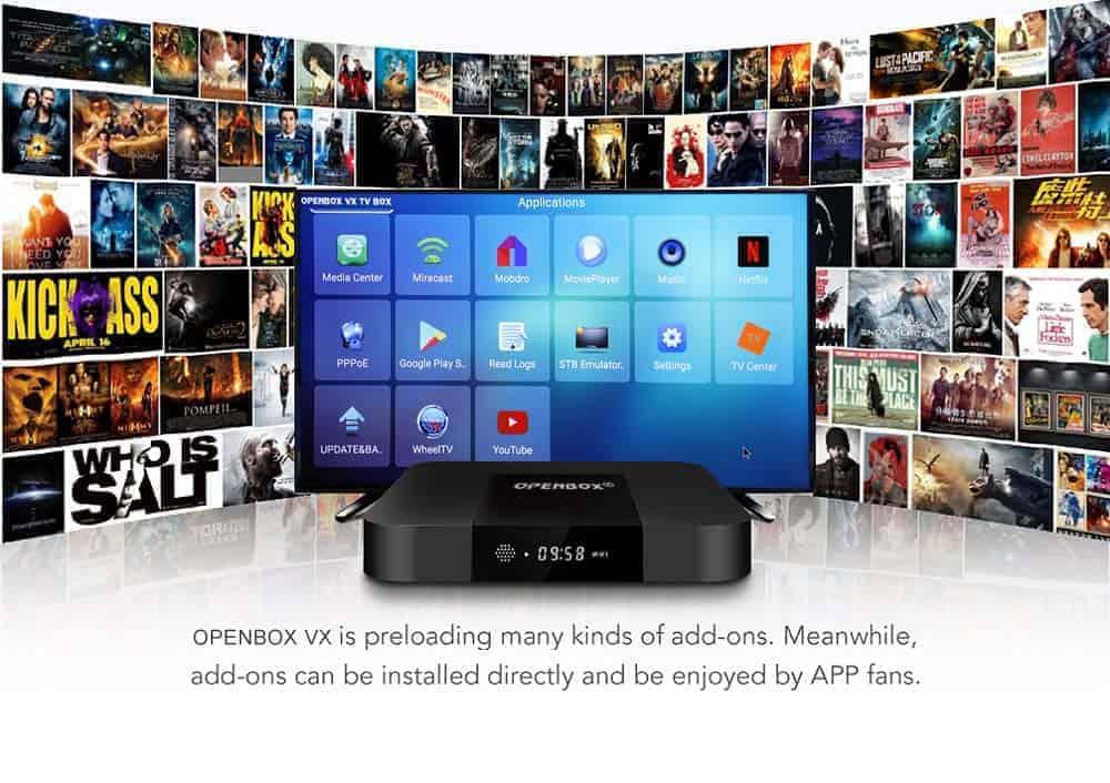 OPENBOX VX IPTV BOX | Android TV Box