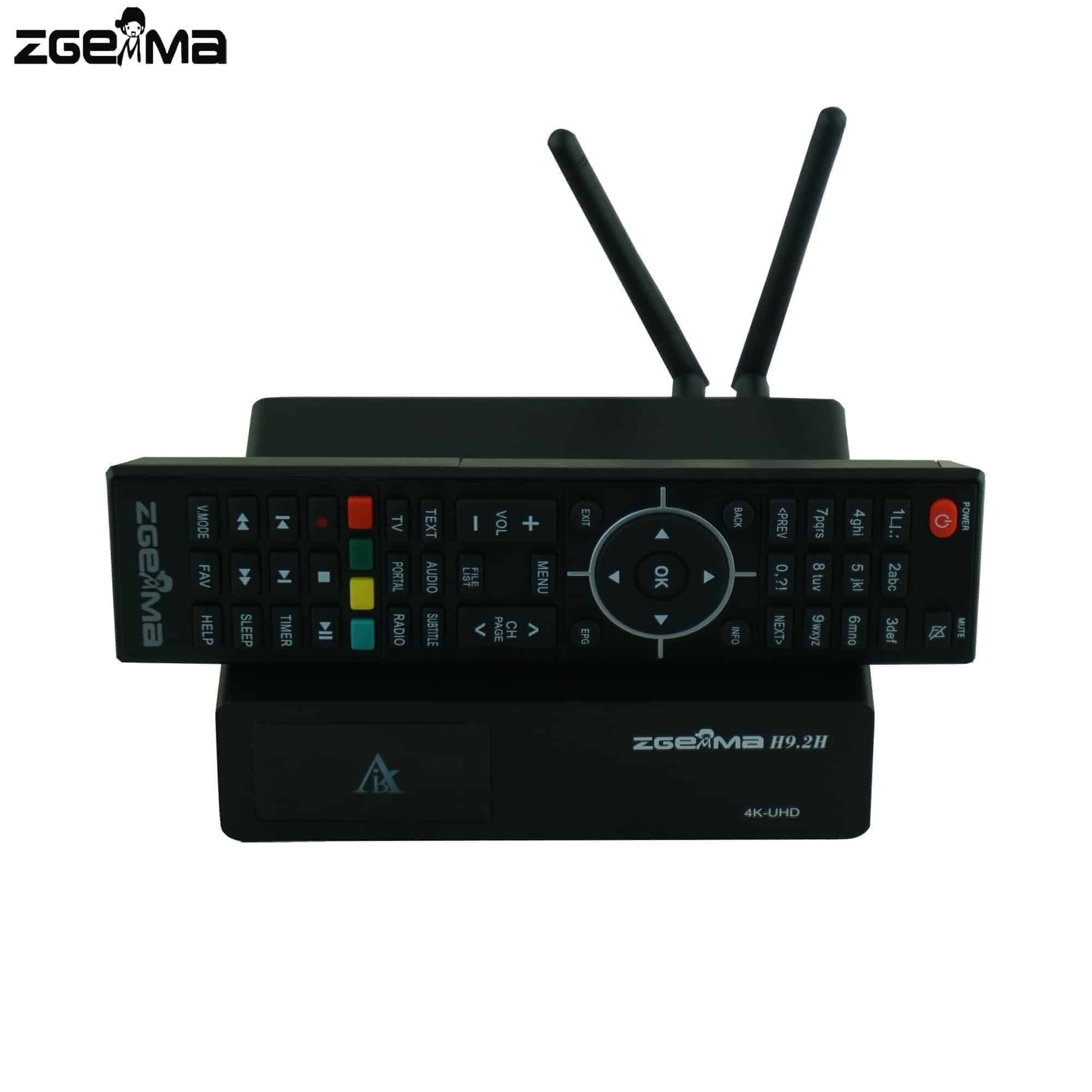 ZGEMMA H9 2H | Combo Tuner (Cable & Satellite) | Enigma 2 TV Box | Built in  WiFi